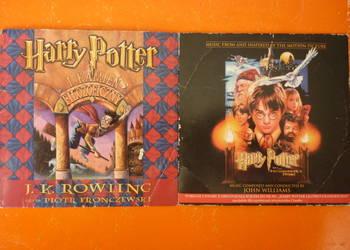 """Zestaw 2 płyt CD """"Harry Potter"""" Rowling Williams Fronczewski"""