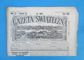 14. Gazeta Świąteczna Rok wydania 1931 - Bezpłatna wysyłka.