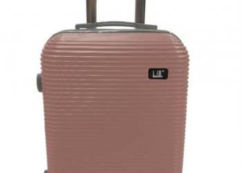 Walizka podróżna duża na kółkach bagaż samolot lekka prezent