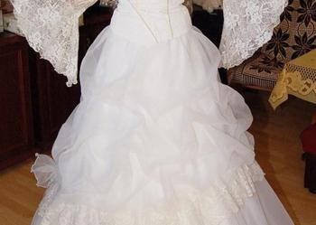 Śliczna suknia ślubna znanej marki Vivien ślub cudna