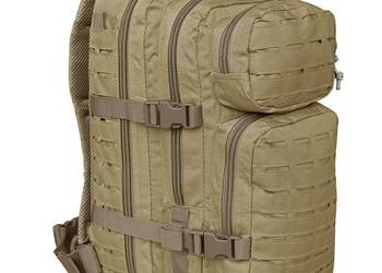 PLECAK SMALL ASSAULT PACK LASER CUT COYOTE