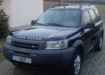 LAND ROVER FREELANDER 2001 2,5 V6 SKÓRY AUTOMAT