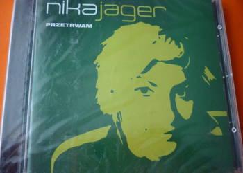 """Płyta CD Nika Jager """"Przetrwam"""" (nowa w folii)"""