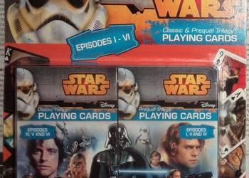 karty star wars -2 talie -nowe -i inne zabawki,gry,klocki,