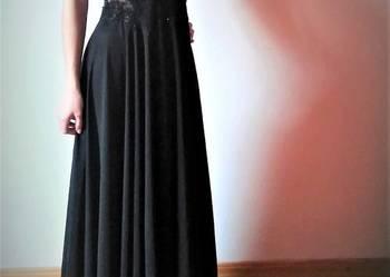 Przepiękna czarna suknia wieczorowa