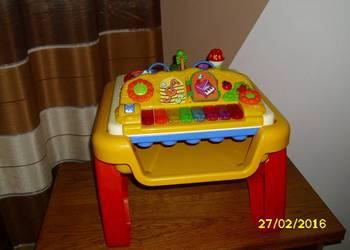 Zabawka 3w1 Stolik edukacyjno-muzyczny firmy CHICCO stan ide