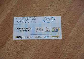 VOUCHER do Fitness Factory w Lublińcu