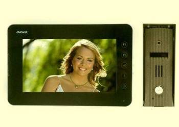 VIDEODOMOFON Videofon Wideodomofon EURA Furtka+Brama+montaż