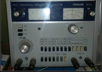 RLC - Universal - messbrucke typ E 316 ; Meratronik