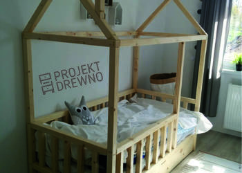 House Bed / łóżeczko domek