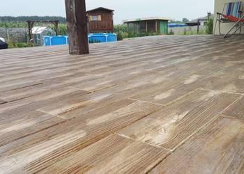 Drewno betonowe,deski z betonu,pieńki