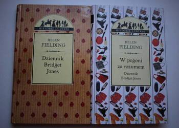 Komplet zestaw 2 książki Helen Fielding Bridget Jones twarda