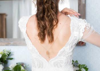 Olśniewająca suknia ślubna projektu Justyny Kodym