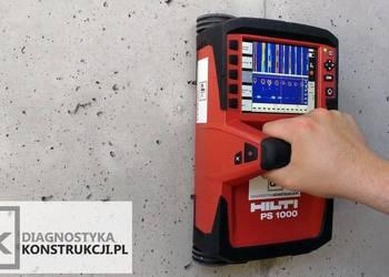 Skanowanie konstrukcji georadarem Hilti X-Scan PS1000