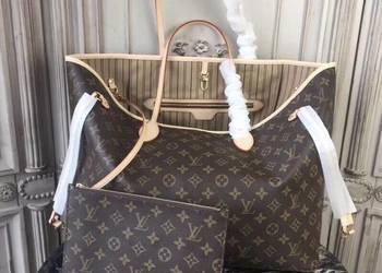 Torebka LV Louis Vuitton Neverfull Monogram Damier ebene