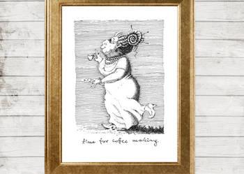 Ilustracja 'Czas na kawę'