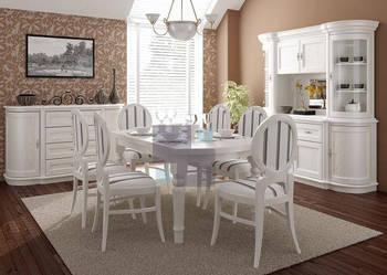 Klasyczny,dębowy, bukowy, biały, stół z krzesłami