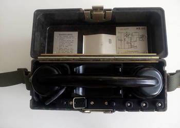 Oryginalny wojskowy telefon polowy RWT