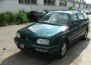 Volkswagen Golf (warmińsko-mazurskie)