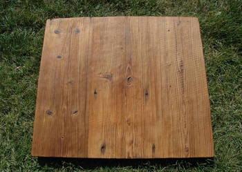 Zrobię blat ze starego drewna Loft stół Stare drewno