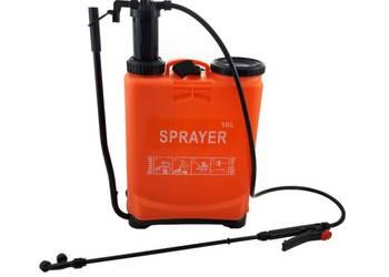 Opryskiwacz ciśnieniowy PLECAKOWY 16L 3DYSZE ręczny