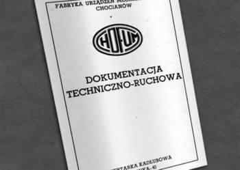 Wiertarka kadłubowa WKA 40 - dokumentacja DTR