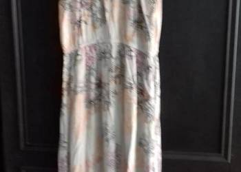 Suknia na lato kolorowa długa