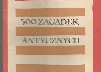 Jerzy Łanowski 500 zagadek antycznych WP 1966