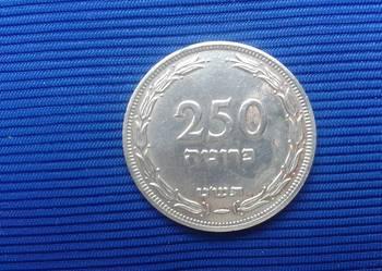 IZRAELSKA  MONETA  250 Pruta 1949