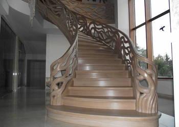Stylowe schody i podłogi z drewna. LEGAR-stolarstwo.