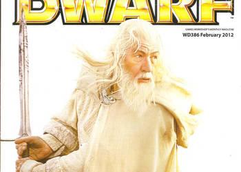 White dwarf Luty 2012 Warhammer LOTR Games Workshop fantasy