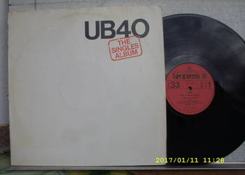 UB 40--THE SINGERS ; LP winyl.