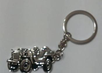 WILLY JEEP Metalowy breloczek do kluczy