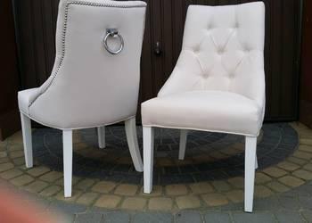 Krzesło z kołatką pinezkami pikowane wygodne producent