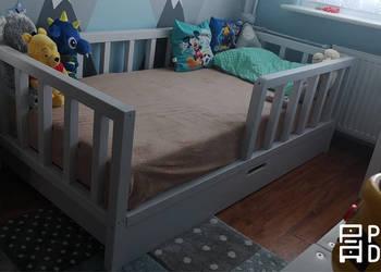 Drewniane łóżeczko dla dzieci ScandiBed