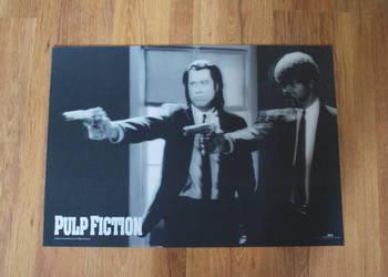 PULP FICTION - plakat filmowy trójwymiarowy 3D - duży
