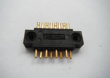 Złącze 8 pin pozłacane TRELEC.M lutowane na kabel connector