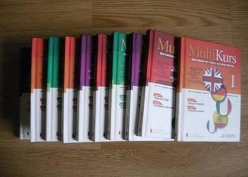 MULTIKURS 5 języków 10 książek z płytami, angielski, niemiec
