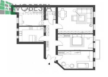 Mieszkanie Katowice 114.53m2 4 pokoje