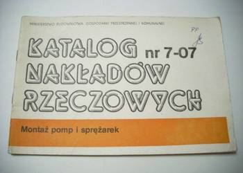 KNR nr 7-07 Montaż Pomp i Sprężarek