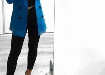 Niebieski wiosenny płaszczyk!