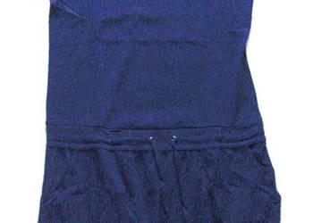 granatowa bawełniana tunika,tunika xxl,sukienka rozmiar 44,