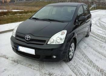 Toyota Corolla Verso 2,0 D4D, 2005r czarny 5 osobowa
