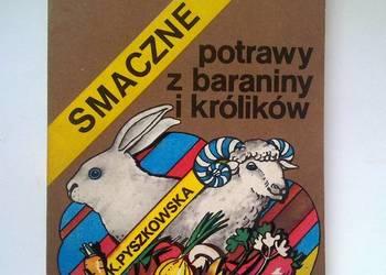 Potrawy z baraniny i królika. Książka kucharska.
