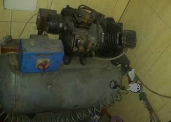 kompresor śrubowy do piaskowania 100L 17ATM