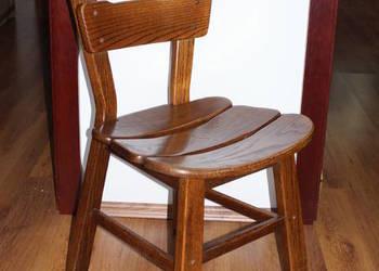 Krzesło drewniane - lite drewno