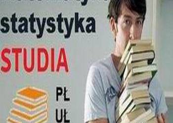 Studia PŁ i UŁ 40 zł Matematyka Statystyka tradycyjnie + sky