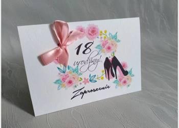 Zaproszenie Na 18 Urodziny Głowno Sprzedajemypl