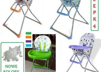 Krzesełko do karmienia dziecka Krzesełka SUPER KOLORY NOWOŚĆ