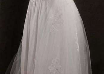 Śliczna Suknia Ślubna nowa rozmiar 36